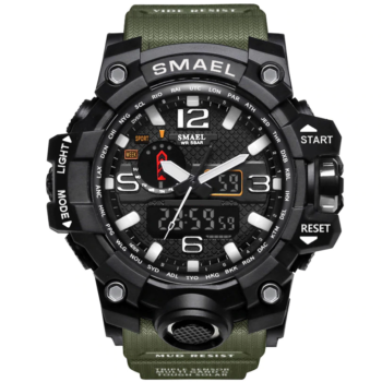 Rugged Sports Watches for Men with Digital and Analogue Display Watches