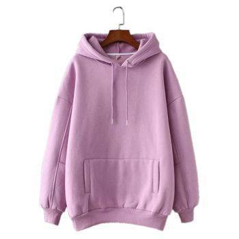 Women's Casual Loose Cotton Hoodie Hoodies & Sweatshirts Suits & Sets Sweaters Women's Clothing