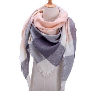 Women's Long Knitted Scarf Women's Accessories Women's Scarves