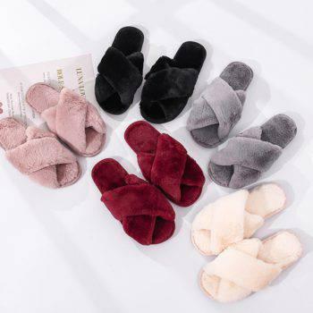 Women's Fashion Plush Slippers Women's Accessories
