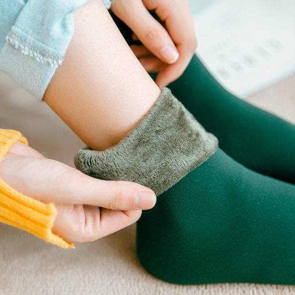 Women's Thick Thermal Wool Cashmere Socks Women's Accessories
