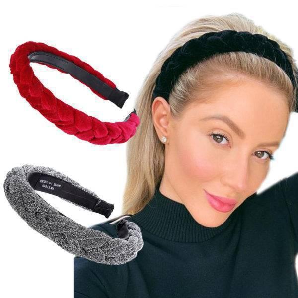 Women's Wide Braided Style Headband Women's Accessories Women's Hair Accessories