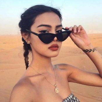 Women's Retro Cat Eye Sunglasses Women's Accessories Women's Glasses