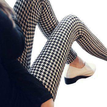 Women's Stretch Printed Leggins Bottoms Pants & Capris Women's Clothing