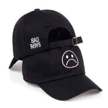 Emoji Embroidered Snapback Cap Apparel Accessories Men's Accessories Men's Hats Women's Accessories Women's Hats