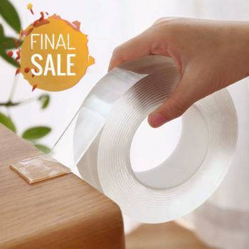 Magic Double Sided Reusable Transparent Tape