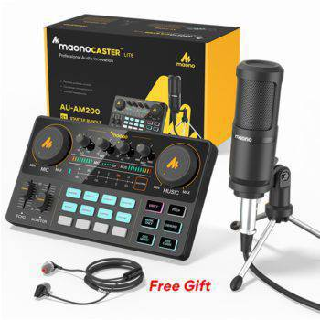 CASTER LITE AM200-S1 All-in-one Microphone Mixer Kit
