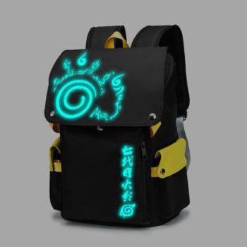 Anime Uzumaki Naruto Sasuke Backpack Cosplay Schoolbags travel bags