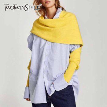 Spring Autumn Knitting Scarves for Women Women's Scarves
