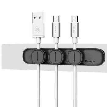 Magnetic Cable Clip USB Organizer Clamp