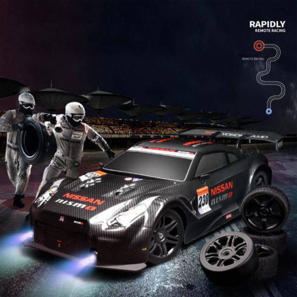 New Remote Control RC High Speed Drifting GTR Racing Car H 2.4G