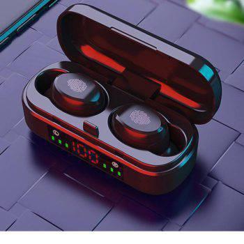 Epic X Wireless Bluetooth Earphone 5.0 9D Bass Stereo Waterproof Earbuds