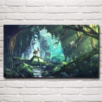 Princess Mononoke Anime Wall Art Poster